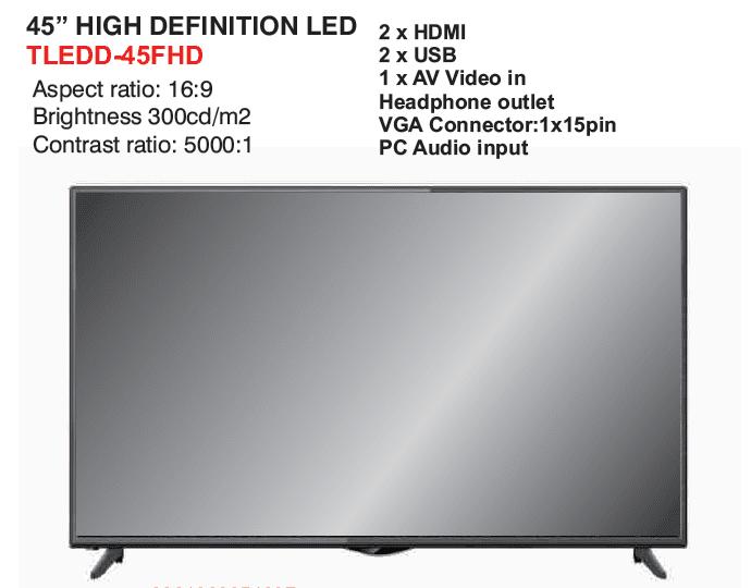 Telefunken 45 LED