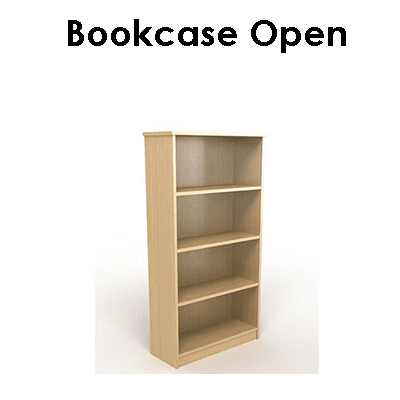Office Bookcase Open
