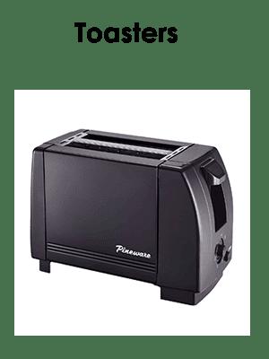 Pineware toasters