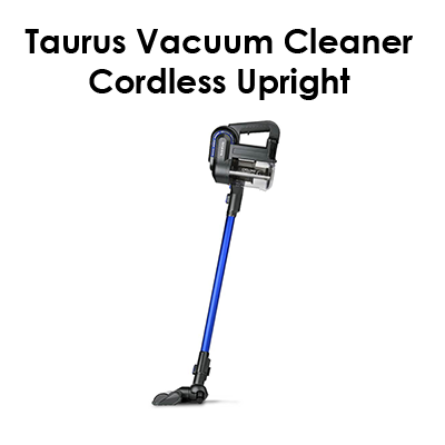 Taurus Vacuum Cleaner Cordless Upright