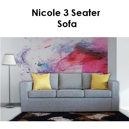 Beach House Nicole 3 Seater Sofa