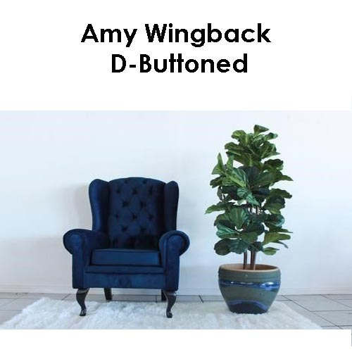 Beach House Amy Wingback D Buttoned