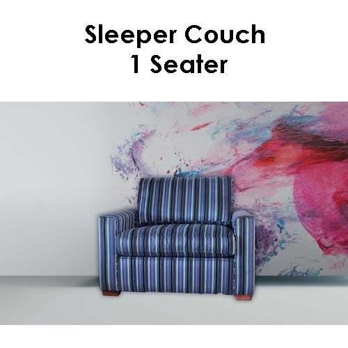 Beach House Sleeper Couch 1 Seater