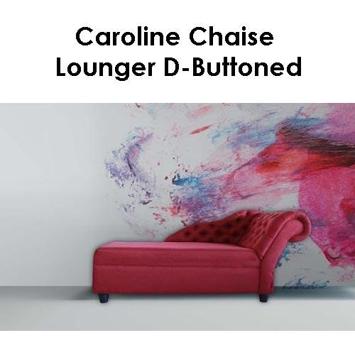 Beach House Caroline Chaise Lounger D Buttoned