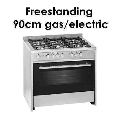 Meireles freestanding 90cm-gas electric