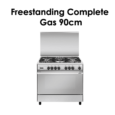 Euraogas Freestanding complete-gas-90cm